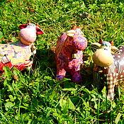 Статуэтка ручной работы. Ярмарка Мастеров - ручная работа Статуэтка: уж такая я корова. Handmade.