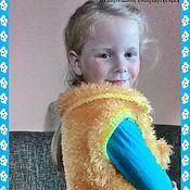 Работы для детей, ручной работы. Ярмарка Мастеров - ручная работа жилетка для девочки. Handmade.