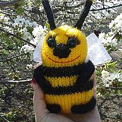 Stuffed Toys handmade. Livemaster - original item A Honeybee. Handmade.
