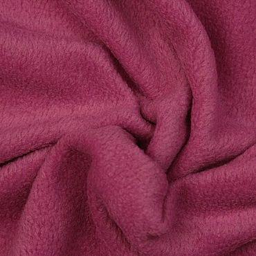 Materials for creativity handmade. Livemaster - original item Fabric: Italian solid wood berry fleece. Handmade.