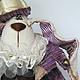 Игрушки животные, ручной работы. Заяц. Шляпник - Алиса в стране чудес.. Марина mif. Ярмарка Мастеров. Винтаж, часы