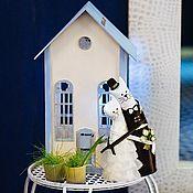 Свадебный салон ручной работы. Ярмарка Мастеров - ручная работа Домик для подарков. Handmade.