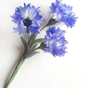 Flowers and floristry handmade. Livemaster - original item Silk flowers. Brooch-flower