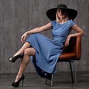 Платья ручной работы. Ярмарка Мастеров - ручная работа Платье 43-37 40-50р. Handmade.