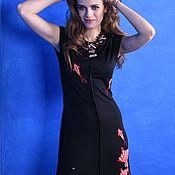 Одежда ручной работы. Ярмарка Мастеров - ручная работа платье STINGRAY. Handmade.