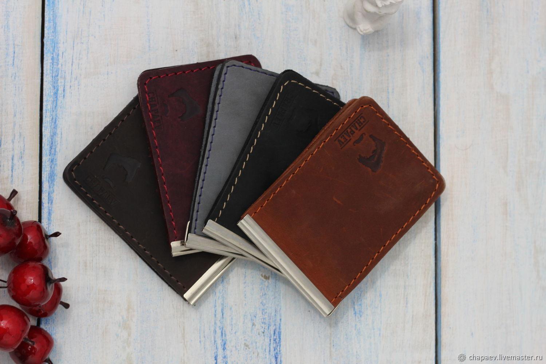 Wallets & Business Card Holders handmade. Livemaster - handmade. Buy Clip.Money clip