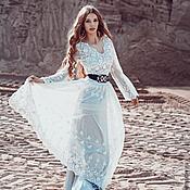 Свадебный салон ручной работы. Ярмарка Мастеров - ручная работа Свадебное платье в Бохо стиле. Handmade.