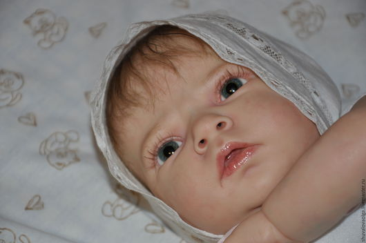 Куклы-младенцы и reborn ручной работы. Ярмарка Мастеров - ручная работа. Купить Кукла - реборн Алёшка. Handmade. Бежевый
