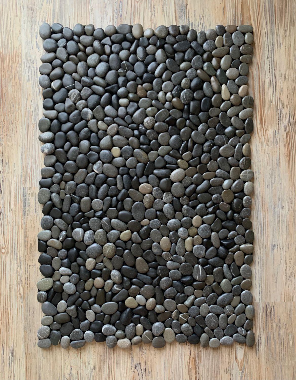 Ковры ; Ковер темный из камня , натуральный, Ковры, Сочи,  Фото №1