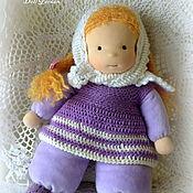 Куклы и игрушки ручной работы. Ярмарка Мастеров - ручная работа Сиреневая Маня, кукла для девочки. Handmade.