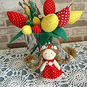 Куклы и игрушки handmade. Livemaster - original item Waldorf dolls and beasts: Doll Thumbelina. Handmade.