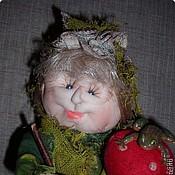 Куклы и игрушки ручной работы. Ярмарка Мастеров - ручная работа Бабка Ёжка. Кукла каркасная. Handmade.