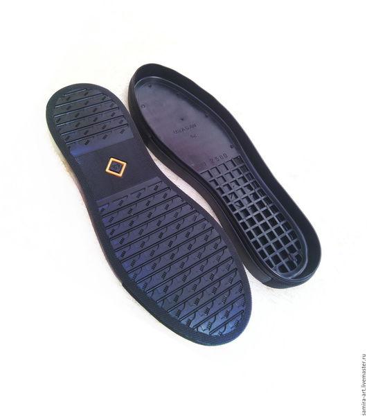 """Валяние ручной работы. Ярмарка Мастеров - ручная работа. Купить Подошва для обуви """"URAGAN"""". Handmade. Черный, подошва для сапог"""