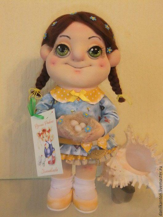 Коллекционные куклы ручной работы. Ярмарка Мастеров - ручная работа. Купить Ласточка. Handmade. Комбинированный, кукла ручной работы