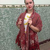 Одежда ручной работы. Ярмарка Мастеров - ручная работа Жилет необычного фасона. Handmade.