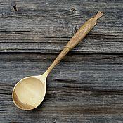 Посуда handmade. Livemaster - original item The spoon is wooden