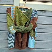 Одежда ручной работы. Ярмарка Мастеров - ручная работа кардиган из твидовой пряжи. Handmade.