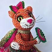 Мягкие игрушки ручной работы. Ярмарка Мастеров - ручная работа Кошечка Дейзи. Handmade.