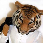 Куклы и игрушки ручной работы. Ярмарка Мастеров - ручная работа Тигр Томас. Handmade.