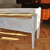 Для дома и интерьера ручной работы. Ярмарка Мастеров - ручная работа Скамья- сундук. Handmade.