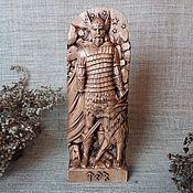 Для дома и интерьера handmade. Livemaster - original item Tyr, Wooden figurine, Norse God. Handmade.