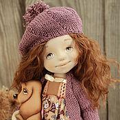 Куклы и игрушки ручной работы. Ярмарка Мастеров - ручная работа Текстильная авторская  кукла Жюли. Handmade.