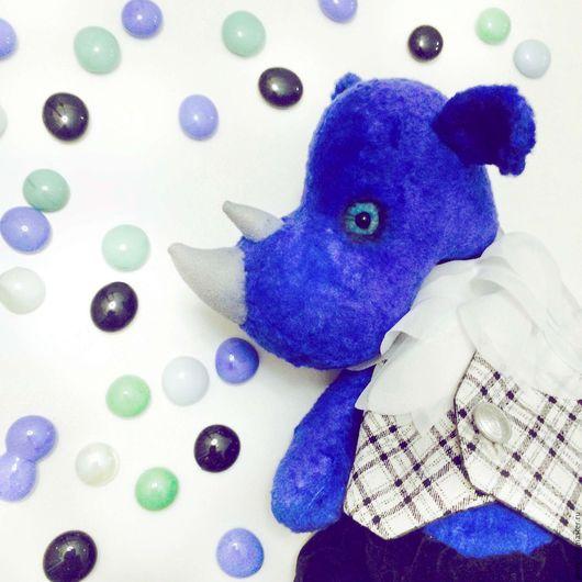 Мишки Тедди ручной работы. Ярмарка Мастеров - ручная работа. Купить Носорог Хранитель. Handmade. Носорог, состаренная игрушка
