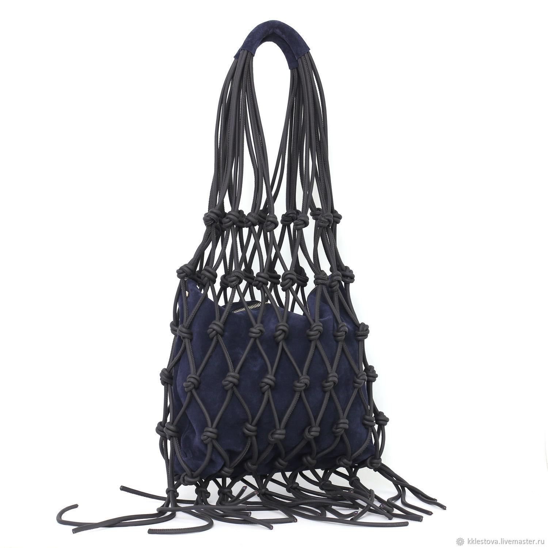 The bag: Black shopping Bag Bag big Bag Package the shopper Mike, String bag, Moscow,  Фото №1