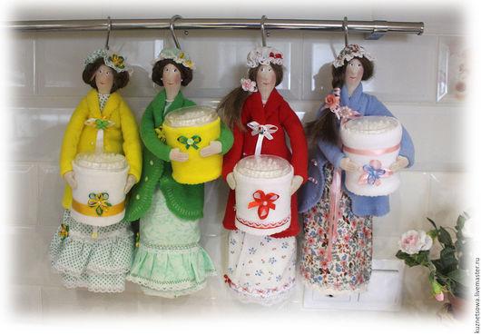 Куклы Тильды ручной работы. Ярмарка Мастеров - ручная работа. Купить Хранительница ватных дисков. Handmade. Кукла, куклы и игрушки