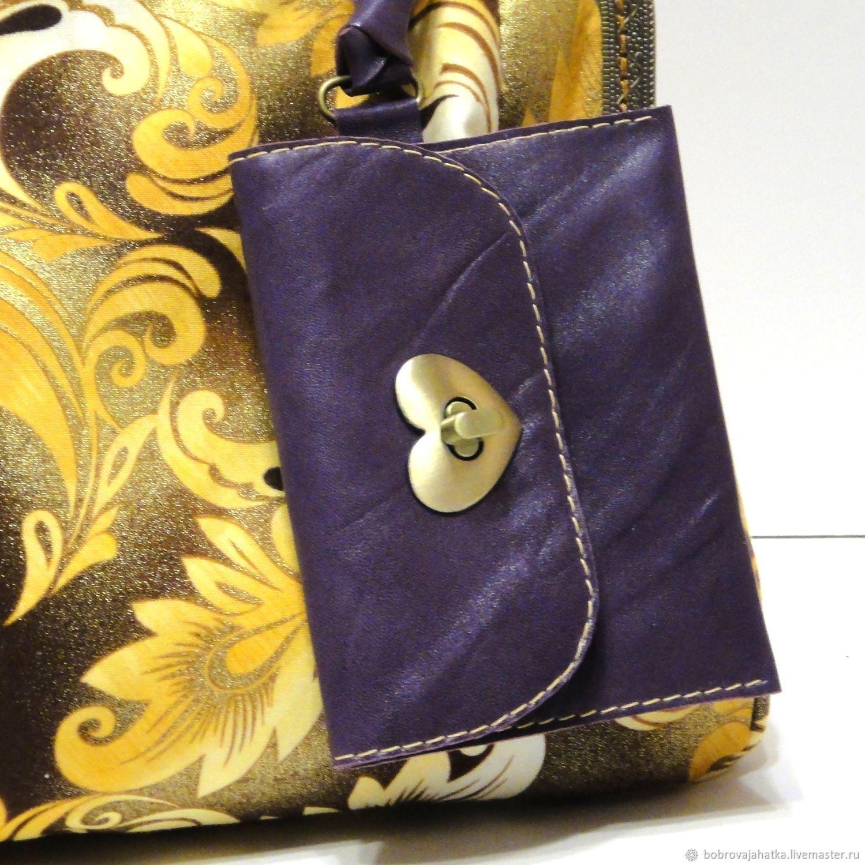 4d39b13be127 Женские сумки ручной работы. Заказать Желтая сумка кошелек женская Корона  Блестящие стразы в подарок девушке ...