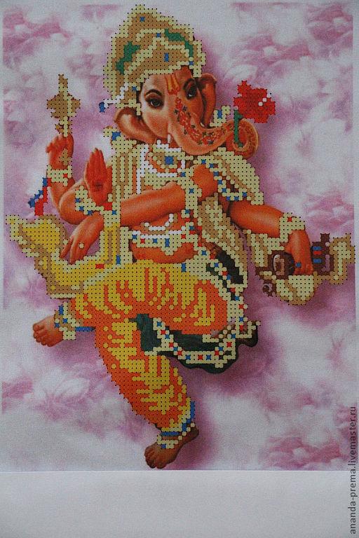 Вышивка бисером индийские божества