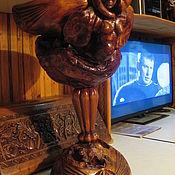Для дома и интерьера handmade. Livemaster - original item Vase Gamayun. Handmade.