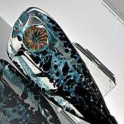 "Украшения ручной работы. Ярмарка Мастеров - ручная работа Кулон ""Царица ночи"" 2 . Лэмпворк. Handmade."