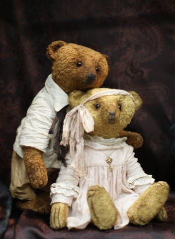 Мишки Тедди ручной работы. Ярмарка Мастеров - ручная работа. Купить Воспоминания. Handmade. Комбинированный, мишки тедди