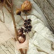 """Украшения ручной работы. Ярмарка Мастеров - ручная работа Серьги """"Розы в письме"""". Handmade."""