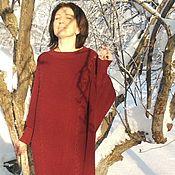 """Платья ручной работы. Ярмарка Мастеров - ручная работа Большие размеры Вязаное платье """" РИШК"""" Большие размеры. Handmade."""
