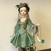 Кукольный театр ручной работы. Ярмарка Мастеров - ручная работа Кукольный театр: охотница. Handmade.