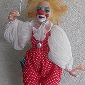 Куклы и игрушки handmade. Livemaster - original item Clown Bylaska. Handmade.