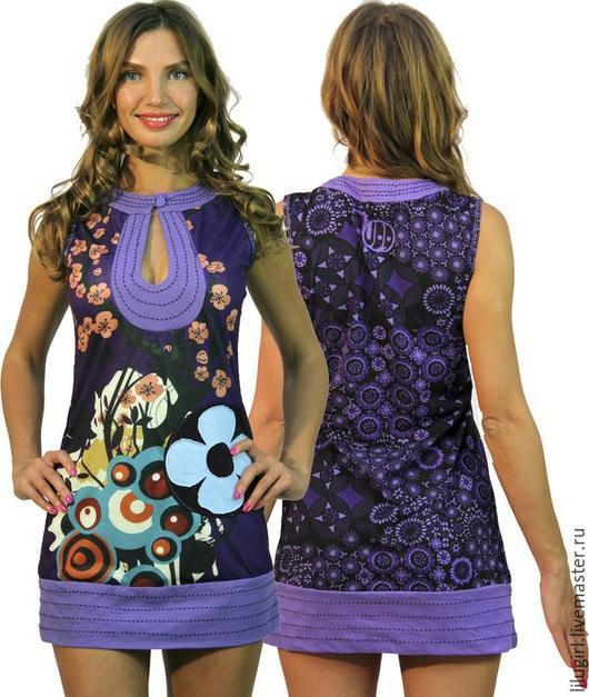 Платья ручной работы. Ярмарка Мастеров - ручная работа. Купить -50% SALE! Платье Лилу. Handmade. Повседневное платье, вискоза