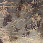 Аксессуары ручной работы. Ярмарка Мастеров - ручная работа Шелковый шарф Ромашки спрятались. Handmade.