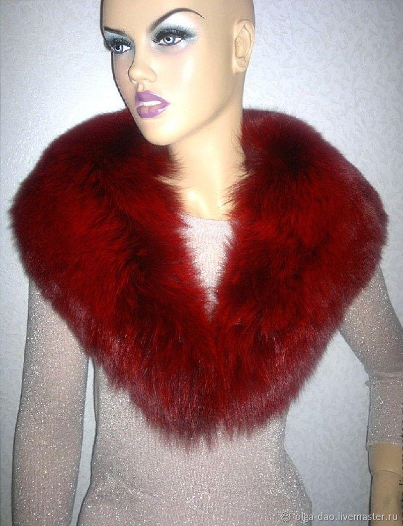 boa in hand made. Fair Masters - handmade. Buy Boa from Fox.Detachable collar.The fur collar.Collar made of Fox fur.Price with discount Handmade.