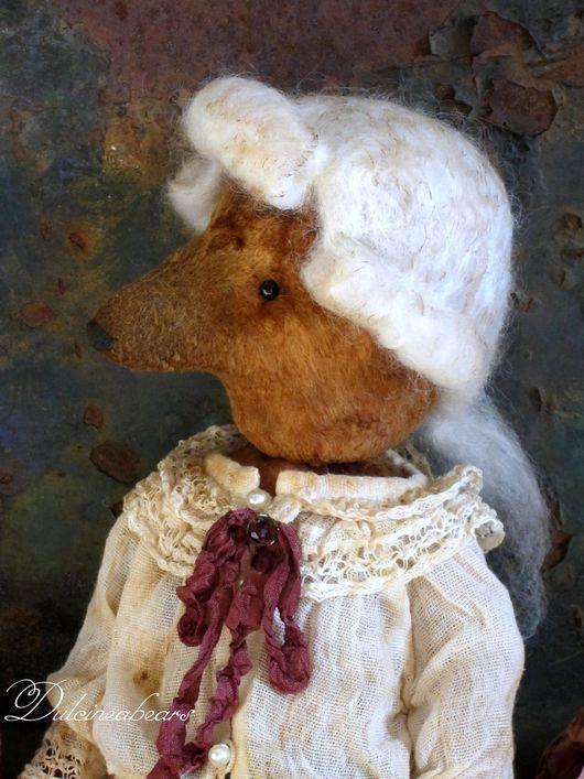 Мишки Тедди ручной работы. Ярмарка Мастеров - ручная работа. Купить Поль. Handmade. Коричневый, винтажный стиль, коллекционные медведи