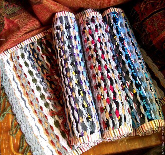 Коврики тканые ручной работы интерьерные. Ручное ткачество.  `Русский дом`