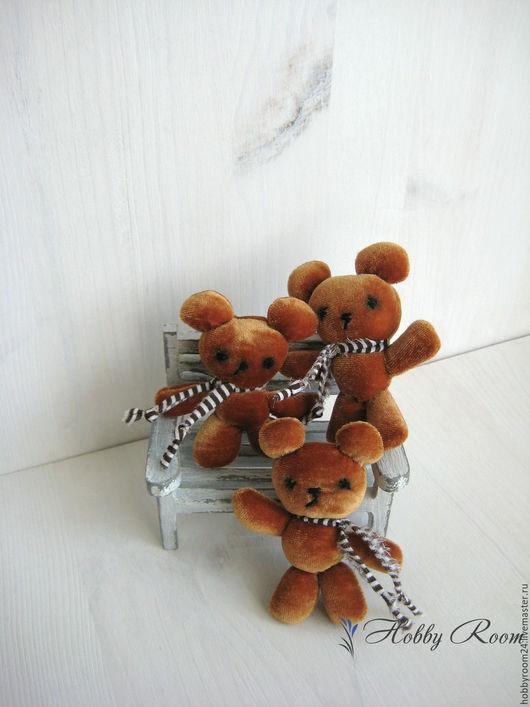 Куклы и игрушки ручной работы. Ярмарка Мастеров - ручная работа. Купить Мишка для куклы, ручная работа. Handmade. Коричневый, мишка