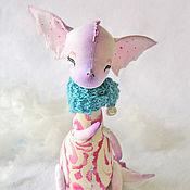"""Куклы и игрушки ручной работы. Ярмарка Мастеров - ручная работа Дракончик """" На сиреневой луне..."""". Handmade."""