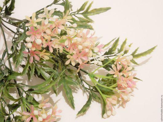 Другие виды рукоделия ручной работы. Ярмарка Мастеров - ручная работа. Купить Добавка с розовыми цветами ( пластик ) 10631. Handmade.