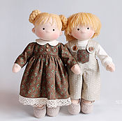 Куклы и игрушки ручной работы. Ярмарка Мастеров - ручная работа Текстильные куклы. Handmade.