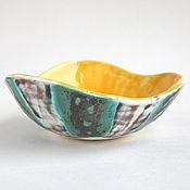 Посуда ручной работы. Ярмарка Мастеров - ручная работа Пиала «Яйцо дракона» желтая. Handmade.
