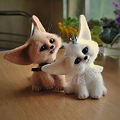 Куклы и игрушки ручной работы. Ярмарка Мастеров - ручная работа Валяные фигурки для примера, 6 работ. Handmade.