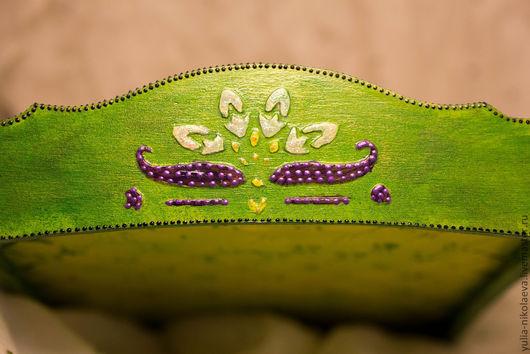 """Конфетницы, сахарницы ручной работы. Ярмарка Мастеров - ручная работа. Купить Конфетница """"Свежесть"""". Handmade. Зеленый, подарок девушке, для украшений"""
